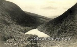 Real Photo - Eagle Cliff White Mountains NH Unused