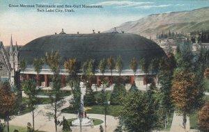 SALT LAKE CITY, Utah, 1900-10s; Great Mormon Tabernacle & Sea-Gull Monument