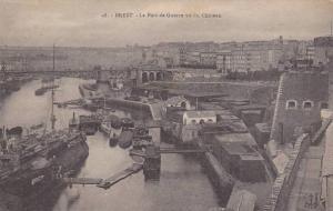 Le Port De Guerre Vu Du Chateau, Brest (Finistere), France, 1900-1910s