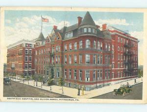 W-Border SOUTH SIDE HOSPITAL SCENE Pittsburgh Pennsylvania PA hs0502