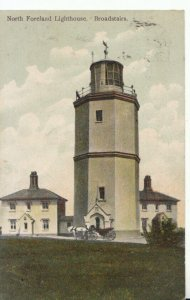 Kent Postcard - North Foreland Lighthouse - Broadstairs - Ref 19317A