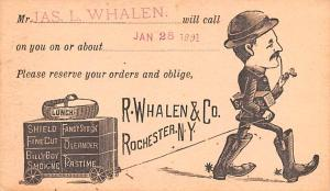 Pionner Advertising (1893 - 1898) Old Vintage Antique Post Card R Whalen & Co...