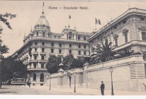 ROME, Italy, 1906 ; Excelsior Hotel