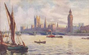 Houses of Parliament ; TUCK #7898 Series , 00-10s Artist Charles F. Flower