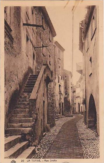 Rue Droite, La Turbie (Alpes Maritimes), France, 1900-1910s