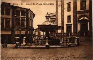 CPA Evora- Fonte da Praca do Geraldo, PORTUGAL (760809)