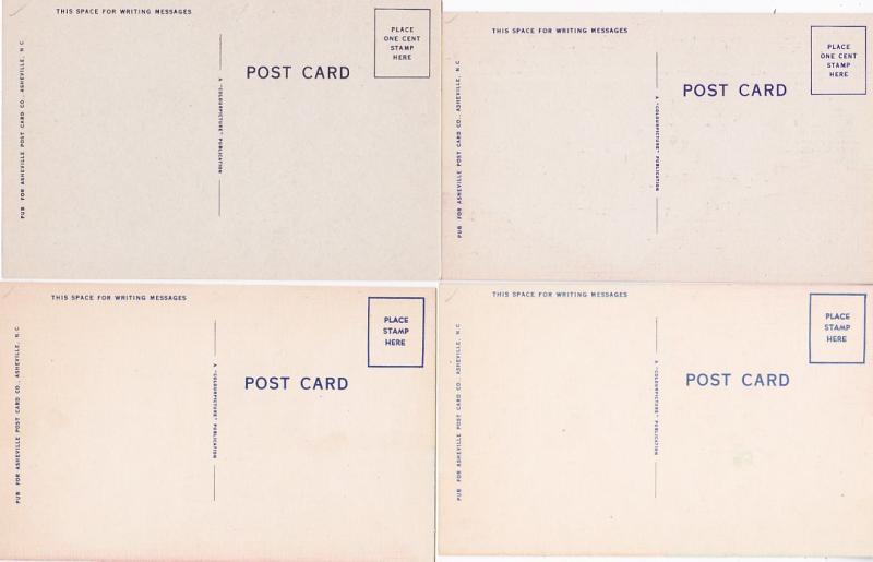 0199 Grabbag Auction 4 Comic Postcards Starting At .99