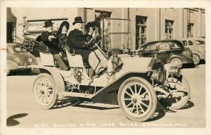 Ortonville Minnesota~Alex Semaru, His 1908 White Buick~c1950 Real Photo Postcard
