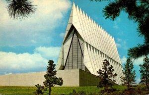 Colorado Colorado Springs United States Air Force Academy The Cadet Chapel