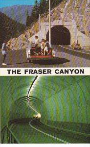 Fraser Canyon China Bar Tunnel Trans-Canada Highway British Columbia Canada