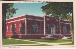 North Carolina Statesville Public Library 1942