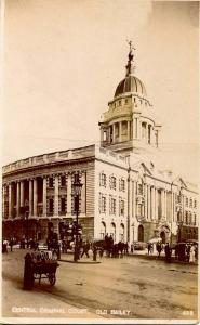UK - England. Central Criminal Court, Old Bailey - RPPC