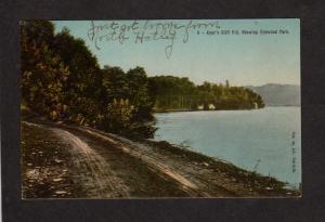 QC Ayer's Cliff Ayers Elmwood Park Quebec Canada Carte Postale Postcard