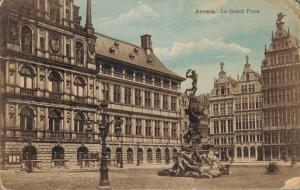 Belgium Anvers La grand Place 01.97