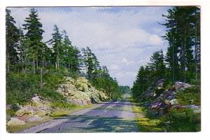 Road Through Rocks, Greetings from Sundridge, Ontario