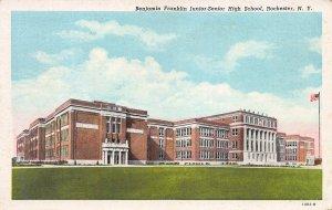 Benjamin Frankilin Junior-Senior High School, Rochester, N.Y., Early Postcard