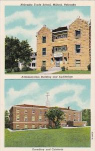 Nebraska Trade School Administration Building Auditorium Dormitory and Cafete...