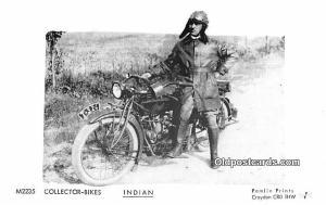 White Border Era (1915 - 1930) Collector Bikes Indian Motocycle