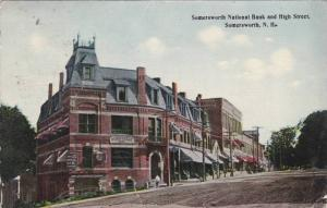 Exterior, Somersworth National Bank and High Street, Somersworth, New Hampshi...