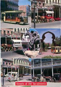Postcards History Old Sacramento CA # 1491A