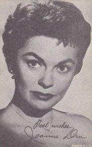Joanne Dru Vintage Arcade Card