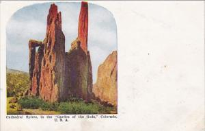 Colorado Cathedral Spires In The Garden Of The Gods