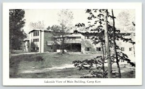 Tustin Michigan~Camp Kett~Main Building~4-H Club  Leadership Training Center~'65