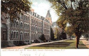 Morrill Hall & McGraw Hall Ithaca, New York Postcard