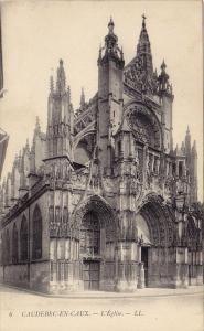 L'Eglise, CAUDEBEC-EN-CAUX (Seine Maritime), France, 1900-1910s