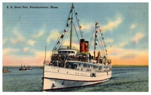 S.S. ISteel Pier , Provincetown Massachusetts