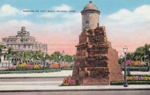 HAVANA , Cuba , 30-40s , City Wall Ruins