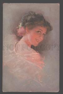 106922 ILLIMINATED Lady GLAMOUR by KNOEFEL vintage Novitas PC