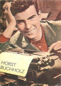 Famous Actors  ACIM movie star Horst Bucholz