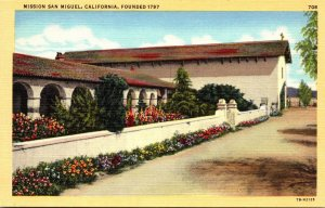 California San Miguel Mission San Miguel Founded 1797
