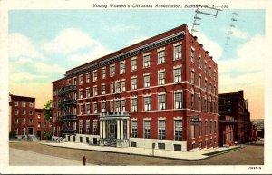 New York Albany Y W C A Building 1951 Curteich