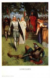 3582  Lohengrin  Knights dueling