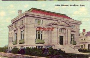 PUBLIC LIBRARY ATTLEBORO, MA 1912