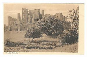 UK Kenilworth Castle Vintage Postcard Picked Series no 304