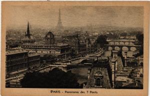 CPA PARIS Panorama des 7 Ponts (302532)