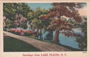 New York Greetings From Lake Placid 1954