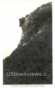 Old Man of the Mountains Franconia Notch NH 1934