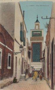 TUNIS, Tunisia, 1900-10s; Rue Sidi ben-Arous.