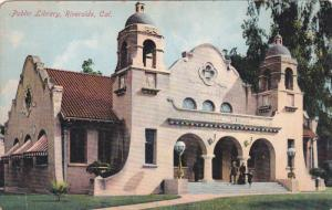 RIVERSIDE, California, 1900-1910's; Public Library