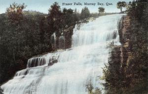 Fraser Falls, Murray Bay, Quebec, Canada, Early Postcard, Unused