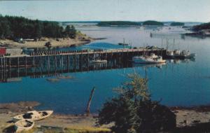 Wharf Fishing Village,  Bay of Fundy,  Nova Scotia,  Canada,  PU_1964
