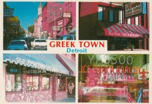DETROIT, Michigan , 1960s; Greektown, 4-views