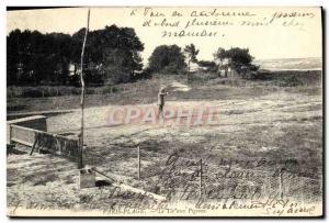 Old Postcard Paris Plage Le pigeon shooting