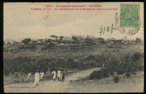 Timbo, French Guinea. La Residence de la Route du Caravanserail. 1911 usage