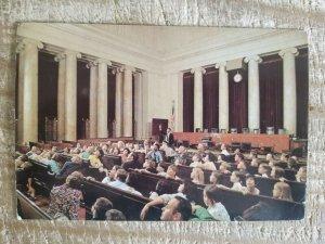 SUPREME COURT CHAMBER IN WASHINGTON DC.VTG UNUSED POSTCARD*P12