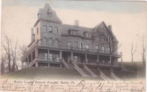 BUTLER , Pennsylvania, 1906 ; Butler County General Hospital